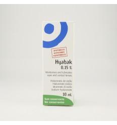 HYABAK SOLUCION HIDRATANTE LENTES DE CONTACTO 10