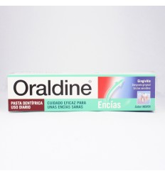 ORALDINE ENCIAS PASTA DENTAL 125 ML MENTA