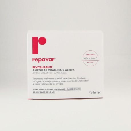 REPAVAR REVITALIZANTE 20 AMP VIT C
