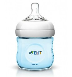 AVENT BIB.G. NAT. 125ML AZUL