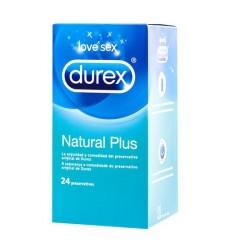 DUREX PRESERV NATURAL PLUS EASY 24 UD