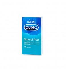 DUREX PRESERV NATURAL PLUS 12 UD EASY ON