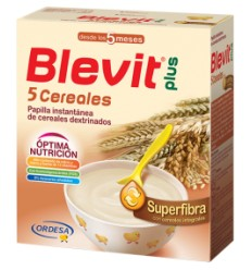 BLEVIT PLUS SUPERFIBRA 5 CER 600 GR