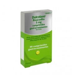 DULCOLAXO 5 MG 30 COMPRIMIDOS RECUBIERTOS