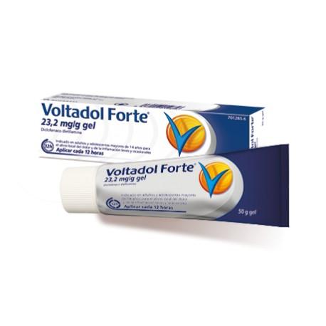 VOLTADOL FORTE 20 MG/G GEL TOPICO 50 G