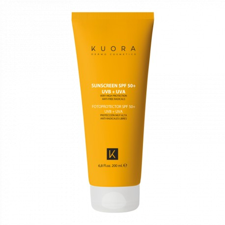 KUORA PROTECCION SOLAR SPF 50 200 ML